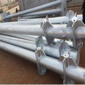 China 20 Volt Led Garden Light Pole Exported Germany , Wind Speed : 160KHM wholesale