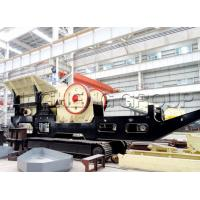 China Mobile Jaw Crusher crushing different kinds of stone widely used in the mining, cement, coal, metallurgy, building mate wholesale