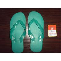 China STOCK -----9-10.5 SIZE  PVC MATERIAL 915A BLUE/GREEN SLIPPERS  6 wholesale