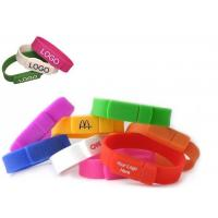 China Kongst Best Popular Promotion Gift Silicone Wristband Bracelet USB Stick with Healthy Mate wholesale