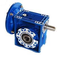 China 1.1kW RV63/RV75/90 Ratio 20/25/30 high torque low rpm gear motor go kart gearbox on sale