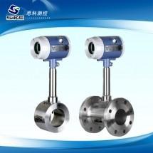 China Natural gas hydraulic oil flow meter price lpg diesel fuel flow meter digital turbine flowmeter for gas wholesale