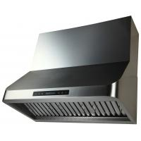 China ETL certificate American and Canada standard Wall mounting range hood with Baffle Filters 36'' on sale