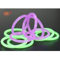 China FDA Colored Rubber Clear Silicone O Ring Metric O Rings AS568 Standard wholesale