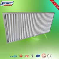 China High Air Flow Pleated Panel Air Filters Industrial Air Purifier With Washable Filter on sale