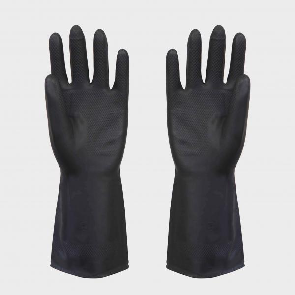Quality Black Latex Work Gloves for sale