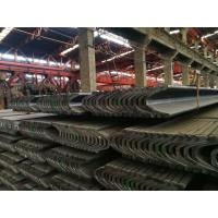 China Hot Rolled U Beam Steel 20MnK / Q275 Material 122 - 171mm Outside Width wholesale