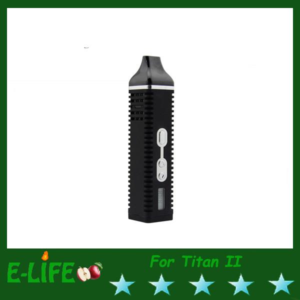 Quality Titan 2 Pro G Herb Vaporizer Weed E Cigarette Vapor Mod Black/Red Option HEBE Vaporizer for sale
