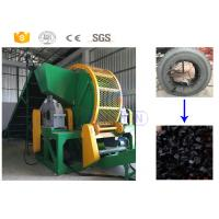 China High efficiency old tractor tire recycling shredder manufacturer with CE on sale