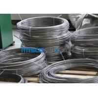 China 9.53 * 20 BWG Stainless Steel Coiled Tubing For Oil Transparent 1.4404 / 1.4301 wholesale