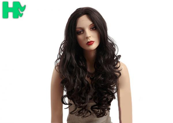 Quality Monofilament Synthetic Glueless Long Natural Wigs For Black Women 250g for sale