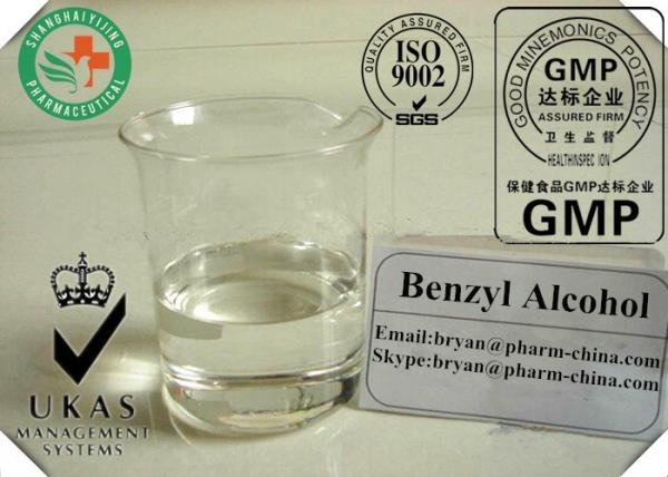 BA Safety Organic Solvents Benzyl Alcohol 100-51-6 for Ointment or Liquid Medicine