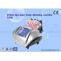 China S06 diode lipo laser Cryolipolysis Slimming Machine / Low Level Laser Therapy wholesale