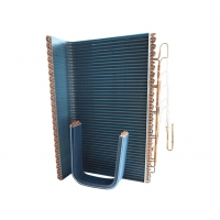 China Electrophoresis 7.94mm Finned Coil Heat Exchanger For Water Cooler wholesale