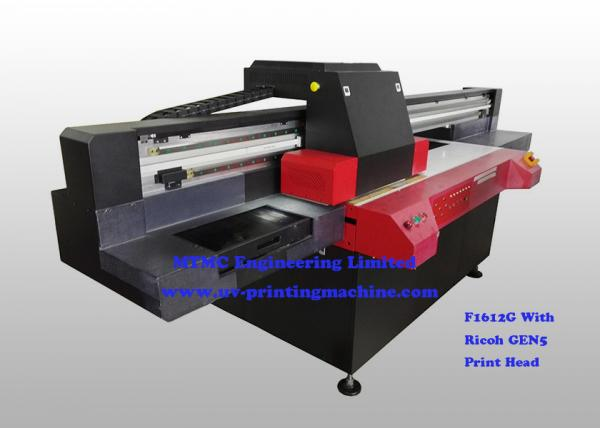Quality High Performance Flatbed Wide Format UV Printer For Laptop Decoration , Ricoh GEN5 Print Head for sale