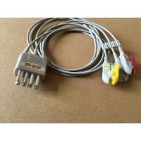 nihon kohden TPU BR-903P 3lead wire cable with grabber,IEC for patient monitor