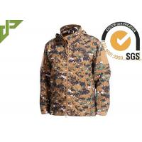 China Woodalnd Tactical Camo Jacket Cold - Proof For Outdoor Fishing Military Style wholesale