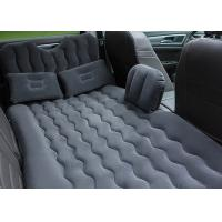 China High Comfort Inflatable Car Bed With Blow Up Pump 300KG Max Loading wholesale