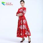 China YIZHIQIU Hot selling maxi vestidos wholesale