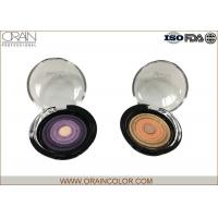 Multi - Colored Powder Professional Eyeshadow Palette With Beautiful Round Pattern for sale