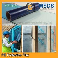 China Uv Blocking Window Glass Covering Film , Scratch Resistant Film For Glass Anti - Aging on sale