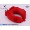 U Shape Memory Foam Pillows / Multifunctional U shape Neck Pillow With Pouch
