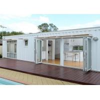 China White Modified Shipping Containers Temporary Container Housing / Custom Shipping Containers wholesale