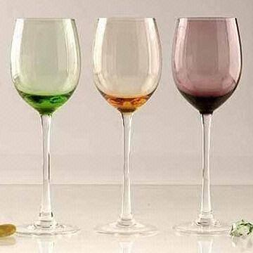Quality Color Wine Glasses, Used for Daily Necessities, Drinking, Tableware, Dinnerware and Bar Ware for sale