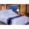 China 300TC Textile Products Hotel Bed Linen Comfortable Plain Pure Color wholesale