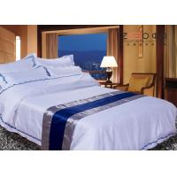 China Disposable Hotel Bed Linen Oxford Style Technical OEM / ODM Available wholesale