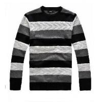 China Men′s Cable Sweater, Pullover Sweater, Knitted Sweater (SFY-J25) wholesale