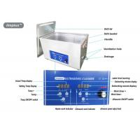 Buy cheap Heated Digital Ultrasonic Jewelry Cleaner 15L For Jewelry Cleaning from wholesalers