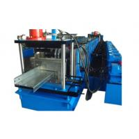 China adjustable c purlin roll formed machine C type groove machine wholesale