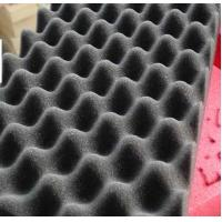 China Black Studio Wave Shaped Fire Resistant Insulation Material Noise Cancelling on sale