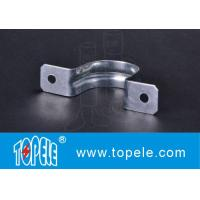 """Buy cheap Two Hole Strap EMT Conduit And Fittings Pre - Galvanized 1/2"""" To 4"""" Size from wholesalers"""