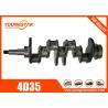 Mitsubishi 4D35 Flywheel Crankshaft MD013680 MD 013680 Canter