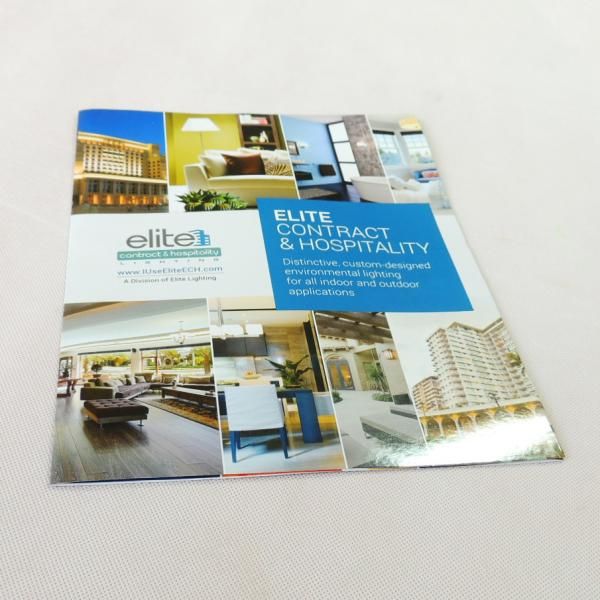 Quality Listed Company Catalogue / Booklet / Brochure Printing Services 128 / 157 gsm Matt for sale