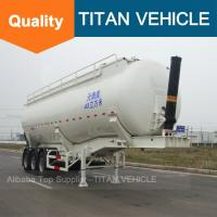 China TITAN Cement trailer banana type , Cement Trailer Self Loading,Tipping Cement Bulker Trailer wholesale