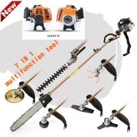 China Powerful petrol multi strimmer for garden and agriculture , grass strimmers petrol wholesale