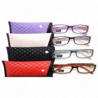 China Reading glasses with case, EN14139 and FDA certified wholesale