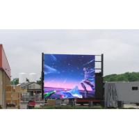 China SMD Led Wall Screen Display Outdoor , Advertising Led Video Display P6 P8 P10 1R1G1B wholesale