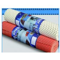 China 330g - 600g Weight Anti Skid Mat  PVC Coated For Home And Office Easily Re-Positioned wholesale