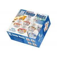China Morden Soup Mugs Food Box Printing , Subscription Box Printing One Sdie Coated Paper wholesale