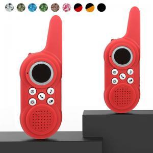 China Shenzhen custom Logo toddler toy walkie talkie 2 way radio wholesale on sale