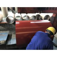 China PPGL Soft Prepainted Galvalume Steel Coil For Steel Roofing / Panels wholesale