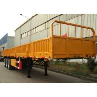 China Triple Axles Storage Container Trailer 12 Sets Twist Lock Flatbed Air Suspension Type wholesale