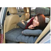 China 2014 new product thick car Back seat cover inflatable mattress cushion car travel bed with inflator pump multi-function wholesale