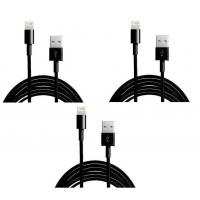 China colorful USB to 8PIN Charging and Data sync cable cord for 5 5s 5c iPod Touch 5 Black wholesale