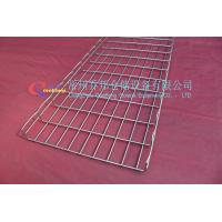 China Remove The Black And Electro Polishing Mesh Structure Steel Grid Wire Cable Tray With OEM wholesale