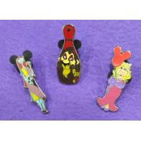 China Hard Enamel Pins Color In Nickle/ Gold Plating For Cartoon Characters wholesale